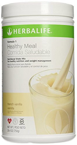 Herbalife Formula 1 Vanilla nutritional shake mix. Healthy meal for weightloss