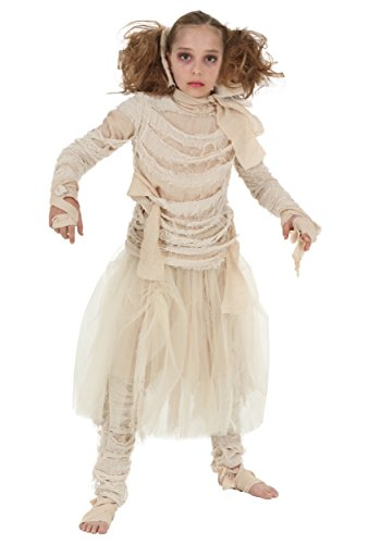 Girls Mummy Costume Small (6) -