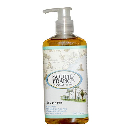 UPC 755355200888, South of France Hand Wash, Cote Dazur, 8 Ounce