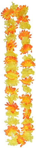 (Silk 'N Petals Island Punch Leis (asstd colors) Party Accessory  (1)