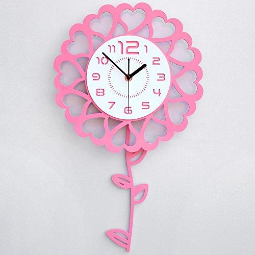 Wall Clock living room modern minimalist creative fashion mute watch ...