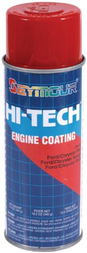 Seymour EN-44 Hi-Tech Engine Spray Paint, Ford/Chrysler Red