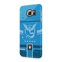 Pokemon GO Team Mystic Themed Pokedex Hard Plastic Snap-On Case Cover For Samsung Galaxy S6