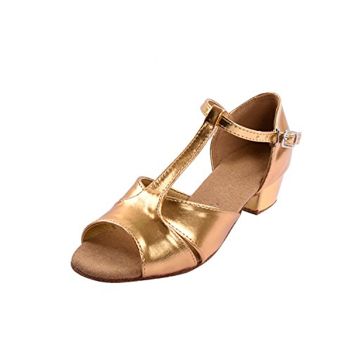 Kevin Fashion , Mädchen Tanzschuhe , gold - gold - Größe: 30 EU Kinder