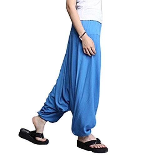 Breathable Travel Home Loose Pants Sagging Pants Yoga Pants Sunscreen by Panda Superstore (Image #2)