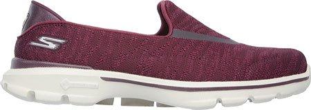 Skechers - Zapatillas de Material Sintético para mujer rojo Burgundy