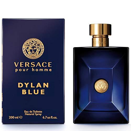 Dylan Blue Pour Homme by Vêrsace Eau de Toilette Spray For Men 6.7 fl.oz./200 ml
