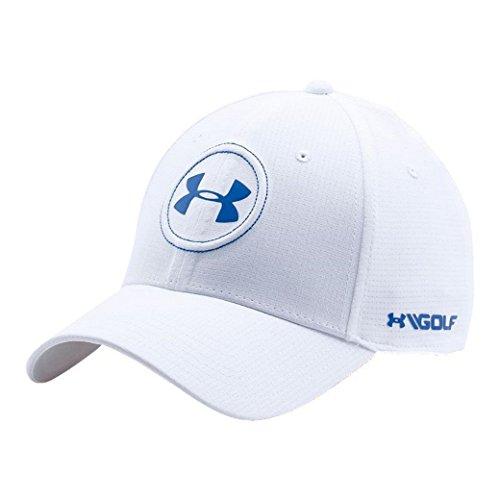 Under Armour HAT メンズ US サイズ: MEDIUM/LARGE-Flexfit カラー: ホワイト