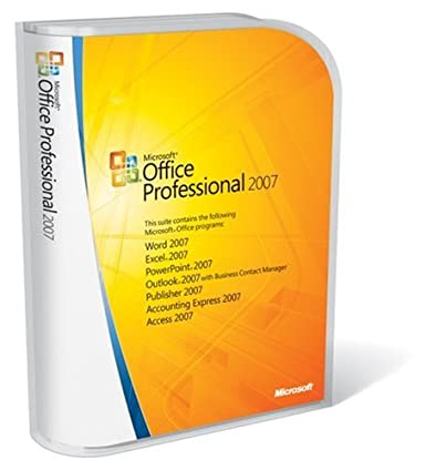 Amazon.com: Microsoft Office Professional 2007 FULL VERSION [Old ...