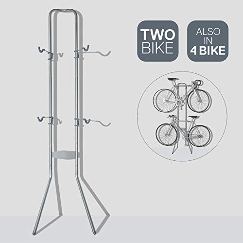 Delta Michelangelo Canaletto Two Four Bike Gravity Stand Garage Indoor Storage Adjustable