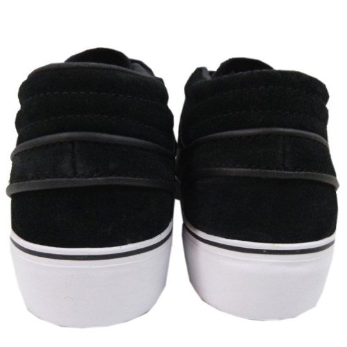 Nike Zoom Stefan Janoski Mid Skate Shoe - Mens Black/White, 10.0