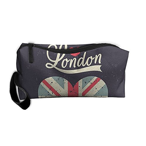 Portable Travel Storage Bags London Clutch Wallets Pouch Coin Purse Zipper Holder Pencil Bag,kits Medicine And Makeup Bags]()