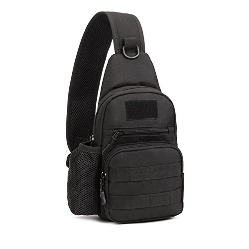 c4c1b273ae3b X-Freedom Military Gear Tactical Casual Sling Chest Pack Bag Shoulder Bag  Crossbody Daypack Molle