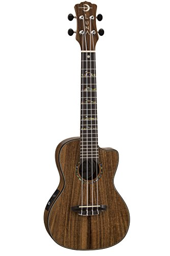 Luna High Tide Series Koa Concert Ukulele by Luna Guitars