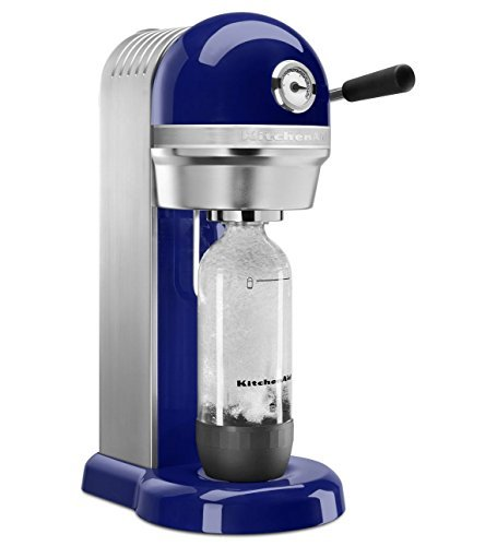 KitchenAid KSS1121BU Sparkling Beverage Maker, Cobalt Blue by KitchenAid