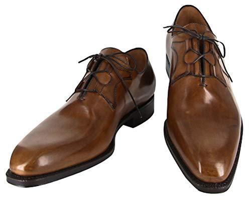 New Sutor Mantellassi Caramel Brown Shoes 7.5/6.5