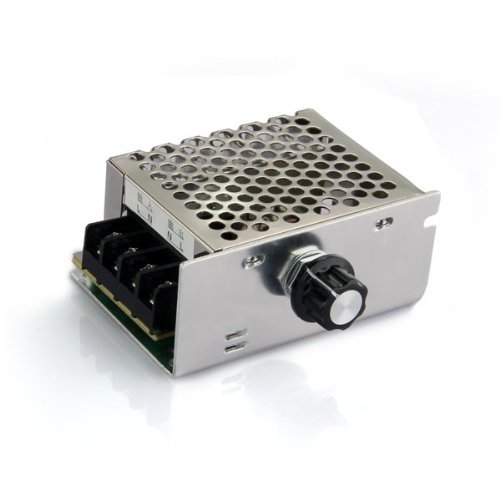 SODIAL (R)Voltage regulator Voltage Speed Controller SCR Dimmer + Shell AC 220V 4000W (Voltage Regulator Dimmer compare prices)