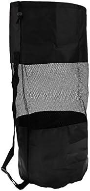 Dive Bag - Heavy Duty Mesh Duffel Bag, Drawstring Storage Pouch for Diving, Scuba, Snorkel, Swim, Surf, Sports