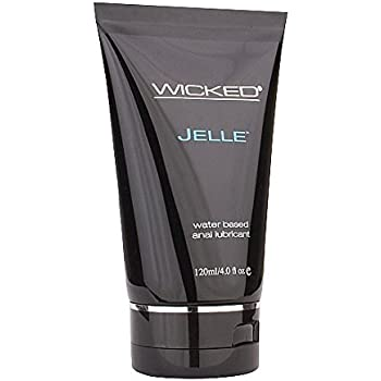 Wicked Sensual Care Wicked Jelle Water Based Anal Lubricant Unscented 4 Oz