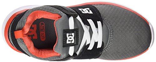 DC Shoes Heathrow - Zapatillas para hombre Gris (Grey / Orange / Grey)