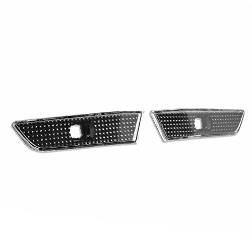 - For INFINITI G35 COUPE 03-07 Front Bumper Side Marker Lights - Black / Clear