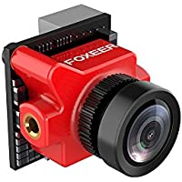 3DPOWER Foxeer Predator Micro 1000TVL 1.8mm 110 Degree M8 Lens Super WDR FPV Camera With OSD DC5V-40V Low Latency red