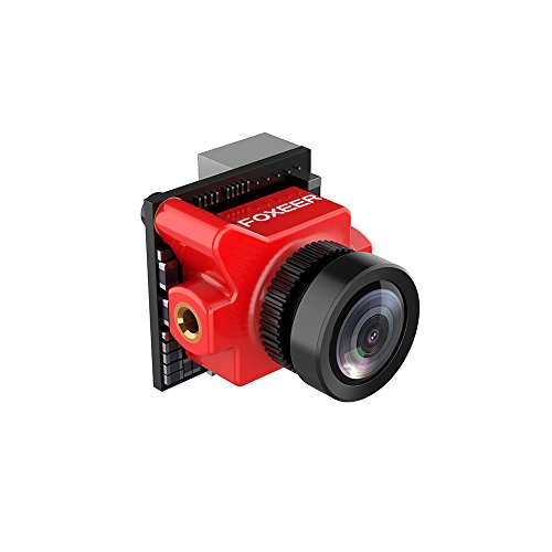 Foxeer Predator Micro FPV Camera 1000TVL 1.8MM Len NTSC Super WDR With OSD DC5V-40V,4ms Latency,4:3 Screen,Defog (reduce the blur, image sharper) for FPV Rcaing Drone by Crazepony by Crazepony