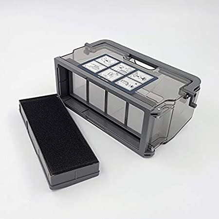 HBK 1 Pieza Caja de Polvo de Repuesto para Ecovacs Deebot DW700-WR ...