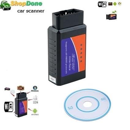 Amazon com: CMOS Chip ELM327 Wifi OBDII OBD2 Diagnostic Auto Car