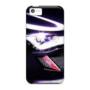 USMONON Phone cases Iphone Iphone 5c Case Cover - Slim Fit Tpu Protector Shock Absorbent Case (audi)