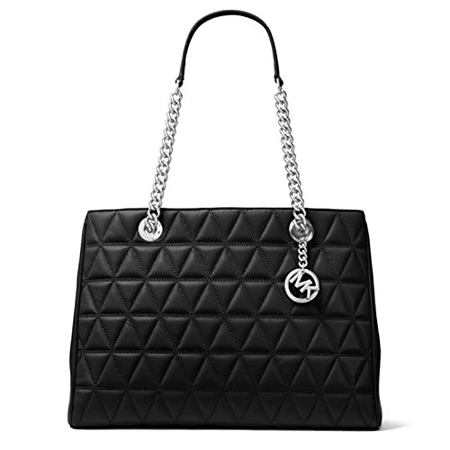 michael kors black quilted bag - 2