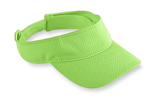 Augusta Sportswear Kids' Athletic MESH Visor OS Lime