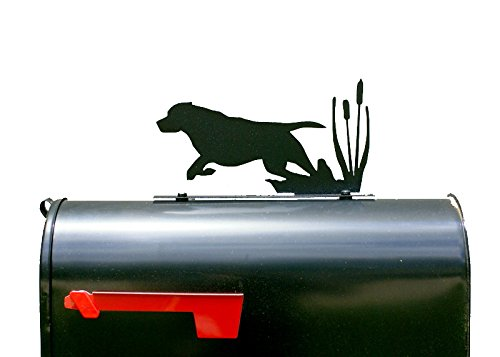 Hunting Dog Silhouette Mailbox Topper / Sign