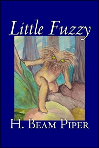 Little Fuzzy uncredited cover illustration, Aegypan Press, 2006