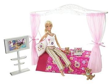 L9485 - Barbie® - Schlafzimmer mit Puppe: Amazon.de: Spielzeug