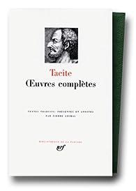 Tacite : Oeuvres complètes par  Tacite