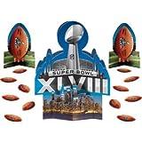 Super Bowl XLVIII Table Decorating Centerpiece Kit 23 pieces! by Super Bowl Party Supplies