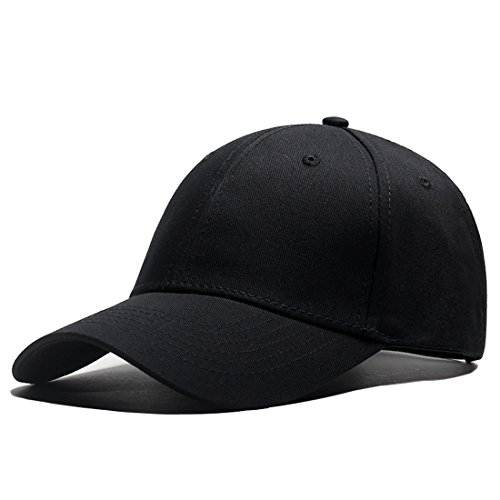 LAOWWO Baseball Cap Classic Adjustable Plain Hat Men Women Golf Cotton Dad  Hat fc58efaf5574