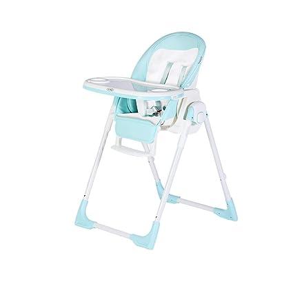 high chair Silla Alta para niños, Silla Plegable para bebés ...
