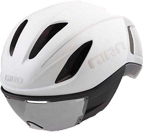 (Giro Vanquish MIPS Cycling Helmet - Matte White Silver Medium)