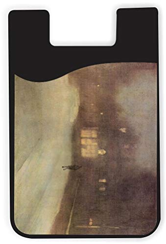 - TysoOLDPhoneC James Abbot McNeill Whistler Nocturne Snow in Chelsea Phone Card Holder Adhesive Card Sleeve Card Pouch, iPhone Card on The Back of Phone and case of LG,Piexl,HTC,BLU,Sony,2 PCS