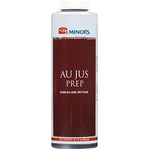 Minor's Au Jus Prep Sauce, Roast Beef Sauce, French Dip Sandwich, 16.7 oz (Best Prime Rib Au Jus)