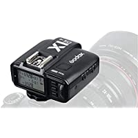 Godox X1C-T 2.4GHz WIreless Hot Shoe Flash Trigger Transmitter for Canon DSLR 440D/500D Set/600D Set/700D Set/60D/6D/70D/7D/760D/1D Set/5D/5D II/5D II/5D III Set ,with 1/8000s HSS TTL 32 Channels