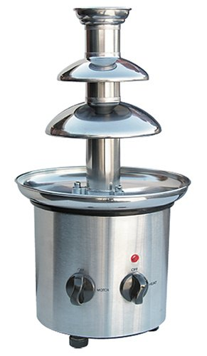 Nostalgia CFF-900 Stainless-Steel Chocolate Fondue Fountain Emgee