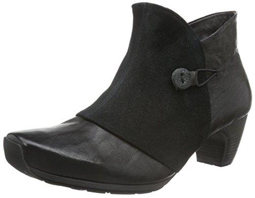Think Ana, Zapatillas de Estar por Casa para Mujer Negro - negro (SZ/KOMBI 09)
