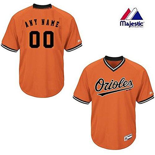 Youth Small Baltimore Orioles CUSTOM (Any Name/# on Back) Major League Baseball Cool-Base V-Neck Jersey
