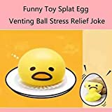 HeavenSense 1Pcs Funny Ball Cute Soft Egg Stress