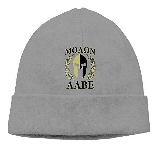 Price comparison product image Molon Labe Olive Laurels Mask Beanie Cap DeepHeather
