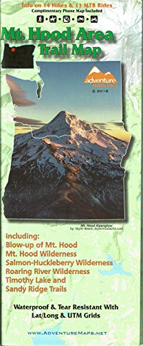 (Mt. Hood Area Trail Map)