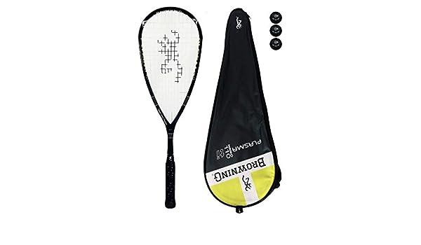 Browning Plasma Nano 110 raqueta de Squash + unidades pelotas de ...